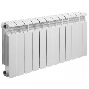 Алюминиевый радиатор Rifar Alum 350, 12 секций