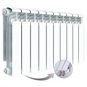 Алюминиевый радиатор Rifar Alum Ventil 350, 10 секций, с нижним правым подключением