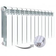 Алюминиевый радиатор Rifar Alum Ventil 350, 12 секций, с нижним правым подключением