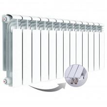 Алюминиевый радиатор Rifar Alum Ventil 350, 13 секций, с нижним правым подключением