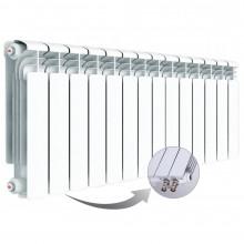 Алюминиевый радиатор Rifar Alum Ventil 350, 14 секций, с нижним правым подключением