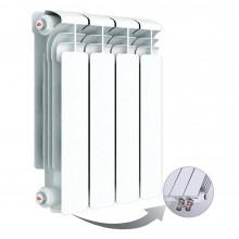 Алюминиевый радиатор Rifar Alum Ventil 350, 4 секции, с нижним левым подключением