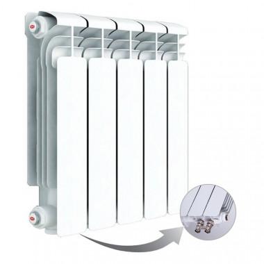 Алюминиевый радиатор Rifar Alum Ventil 350, 5 секций, с нижним правым подключением