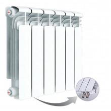 Алюминиевый радиатор Rifar Alum Ventil 350, 6 секций, с нижним левым подключением