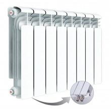 Алюминиевый радиатор Rifar Alum Ventil 350, 8 секций, с нижним левым подключением