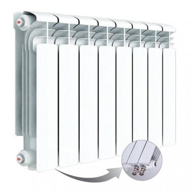 Алюминиевый радиатор Rifar Alum Ventil 350, 8 секций, с нижним правым подключением