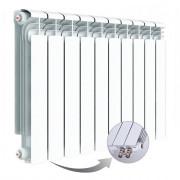 Алюминиевый радиатор Rifar Alum Ventil 500, 10 секций, с нижним правым подключением
