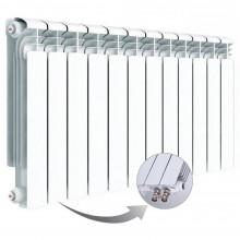 Алюминиевый радиатор Rifar Alum Ventil 500, 12 секций, с нижним правым подключением