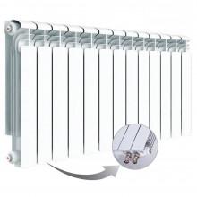 Алюминиевый радиатор Rifar Alum Ventil 500, 13 секций, с нижним правым подключением
