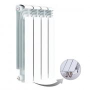 Алюминиевый радиатор Rifar Alum Ventil 500, 4 секции, с нижним правым подключением