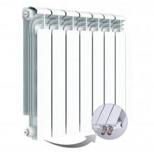 Алюминиевый радиатор Rifar Alum Ventil 500, 7 секций, с нижним правым подключением