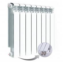 Алюминиевый радиатор Rifar Alum Ventil 500, 8 секций, с нижним правым подключением