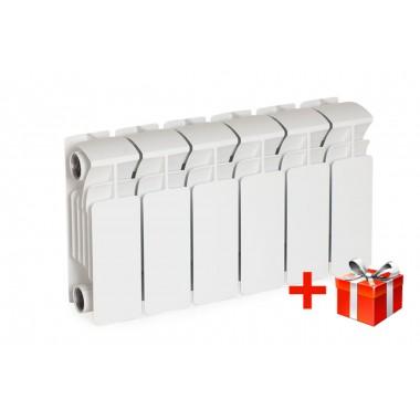 Биметаллический радиатор Rifar Base 200, 19 секций
