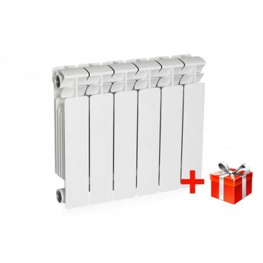 Биметаллический радиатор Rifar Base 350, 17 секций