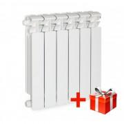 Биметаллический радиатор Rifаr Bаsе 500, 1 секция