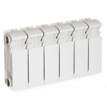 Биметаллический радиатор Rifar Base 200, 6 секций