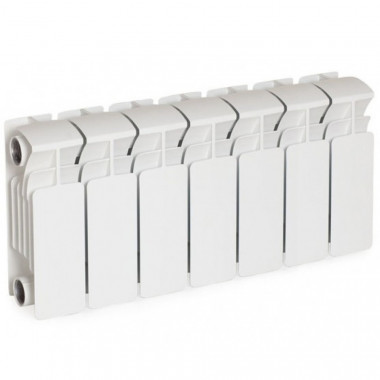 Биметаллический радиатор Rifar Base 200, 7 секций