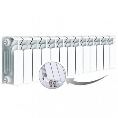 Биметаллический радиатор Rifar Base Ventil 200, 13 секций, с нижним левым подключением