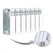 Биметаллический радиатор Rifar Base Ventil 200, 7 секций, с нижним левым подключением