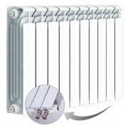Биметаллический радиатор Rifаr Bаse Ventil 500, 10 секций, с нижним левым подключением