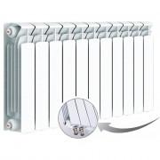 Биметаллический радиатор Rifаr Bаse Ventil 500, 11 секций, с нижним левым подключением