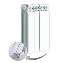 Биметаллический радиатор Rifаr Bаse Ventil 500, 4 секций, с нижним левым подключением