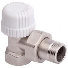 Клапан Stout термостатический угловой 1/2 30х1,5 (под термоголовку) (арт. SVT 0002 000015)