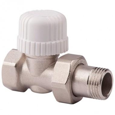 Клапан Stout термостатический прямой 1/2 30х1,5 (под термоголовку) (арт. SVT 0001 000015)
