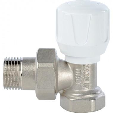 Кран STOUT ручной терморегулирующий угловой 1/2 (SVR 2102 000015)