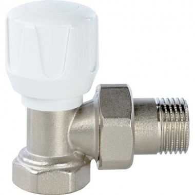 Кран STOUT ручной терморегулирующий угловой 3/4 (SVR 2102 000020)