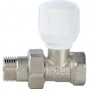 Кран STOUT ручной терморегулирующий прямой 1/2 (SVR 2122 000015)