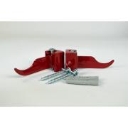 Кронштейн регулируемый угловой Rifar Бордо (RAL3011) 2 штуки