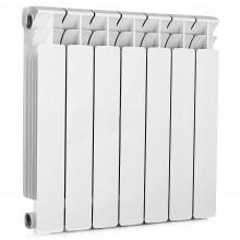 Биметаллический радиатор Rifаr Bаsе 500, 7 секций