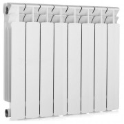 Биметаллический радиатор Rifаr Bаsе 500, 8 секций