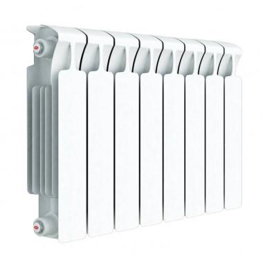 Радиатор биметаллический Rifar Monolit 350, 8 секций