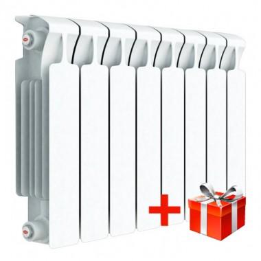 Радиатор биметаллический Rifar Monolit 350, 1 секция