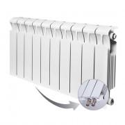 Биметаллический радиатор Rifar Monolit Ventil 350, 10 секций, с нижним правым подключением