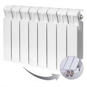 Биметаллический радиатор Rifar Monolit Ventil 350, 8 секций, с нижним правым подключением