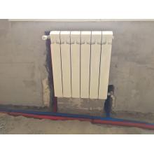 Монтаж радиатора с нижним подключением