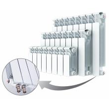 Биметаллический радиатор Rifar Base Ventil 200, 4 секции, с нижним правым подключением