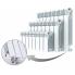 Биметаллический радиатор Rifar Base Ventil 500, 10 секций, с нижним правым подключением
