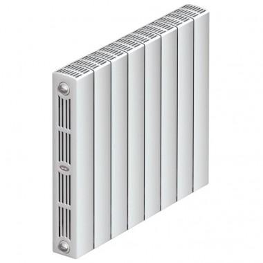 Биметаллический радиатор Rifar Supremo Ventil 500, 6 секций, с нижним подключением