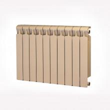 Биметаллический радиатор Rifar Monolit 500, 10 секций Айвори