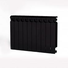 Биметаллический радиатор Rifar Monolit 500, 10 секций Антрацит
