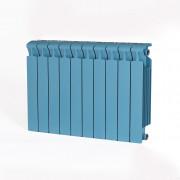 Биметаллический радиатор Rifar Monolit 500, 10 секций Сапфир