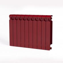Биметаллический радиатор Rifar Monolit 500, 10 секций Бордо