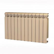Биметаллический радиатор Rifar Monolit 500, 12 секций Айвори