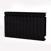 Биметаллический радиатор Rifar Monolit 500, 12 секций Антрацит