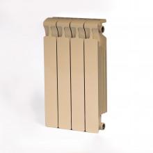 Биметаллический радиатор Rifar Monolit 500, 4 секции Айвори