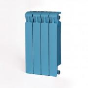 Биметаллический радиатор Rifar Monolit 500, 4 секции Сапфир